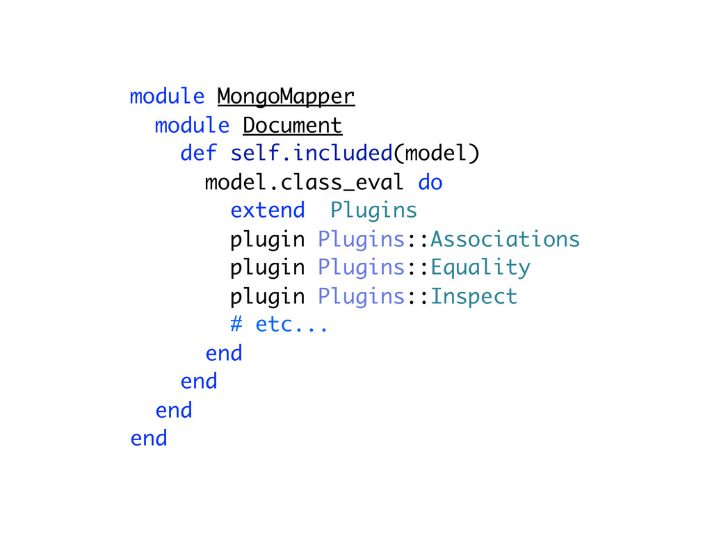 module MongoMapper module Document def self.inc...