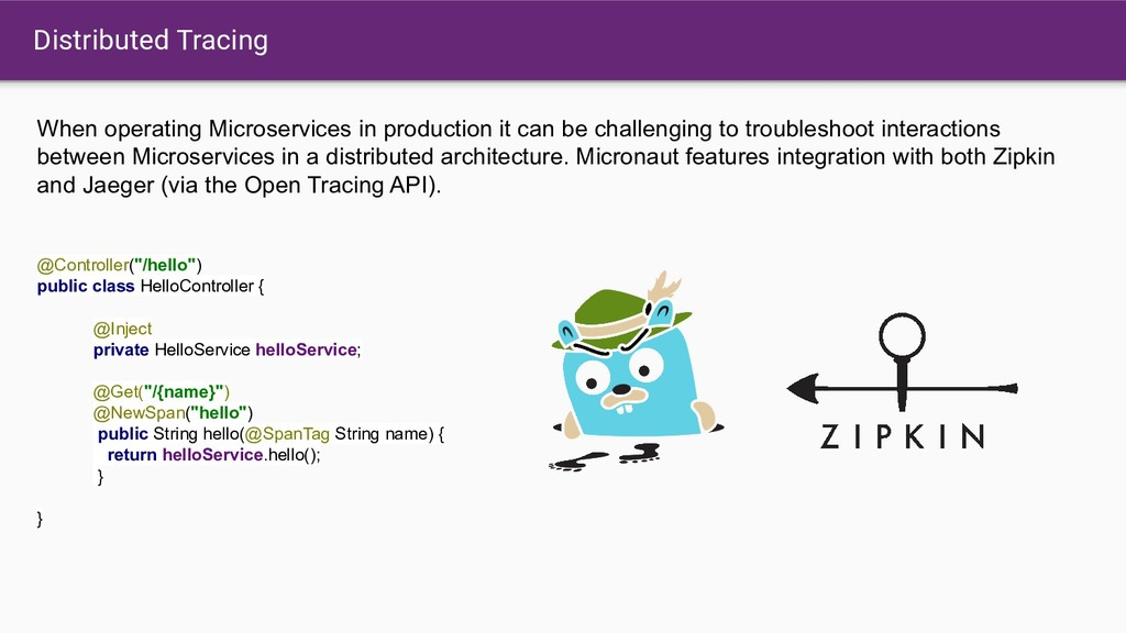 Distributed Tracing When operating Microservice...