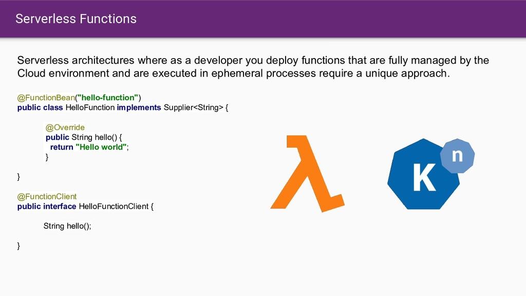 Serverless Functions Serverless architectures w...