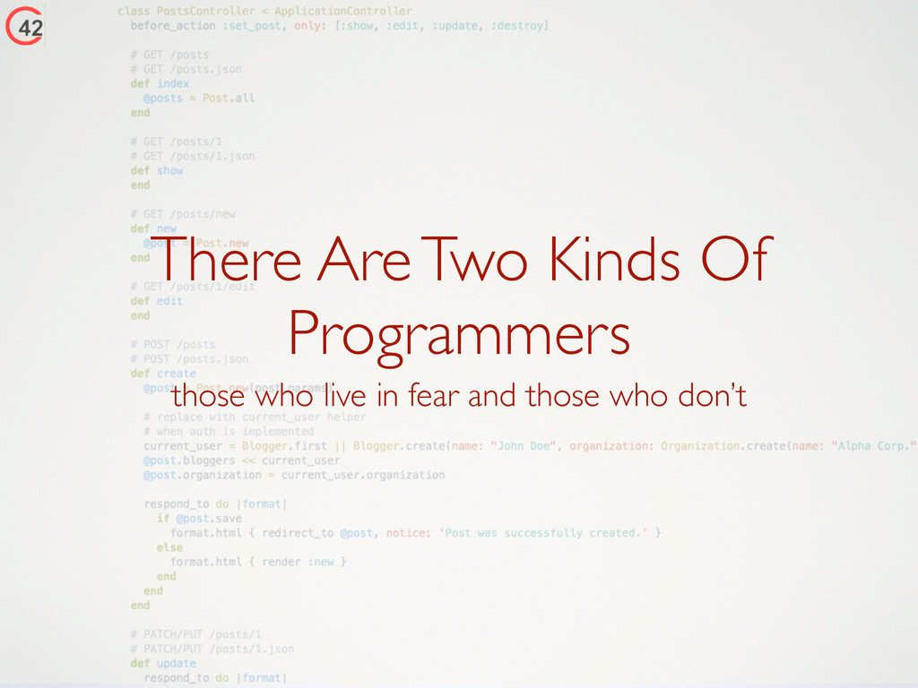 There Are Two Kinds Of Programmers those who li...