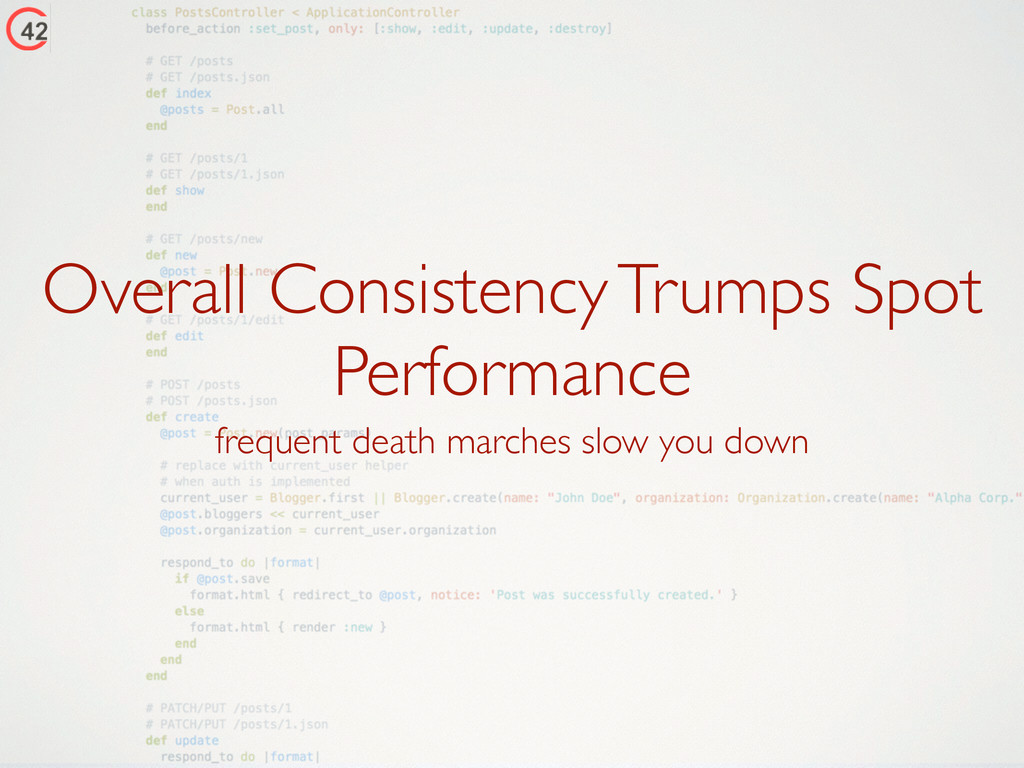 Overall Consistency Trumps Spot Performance fre...