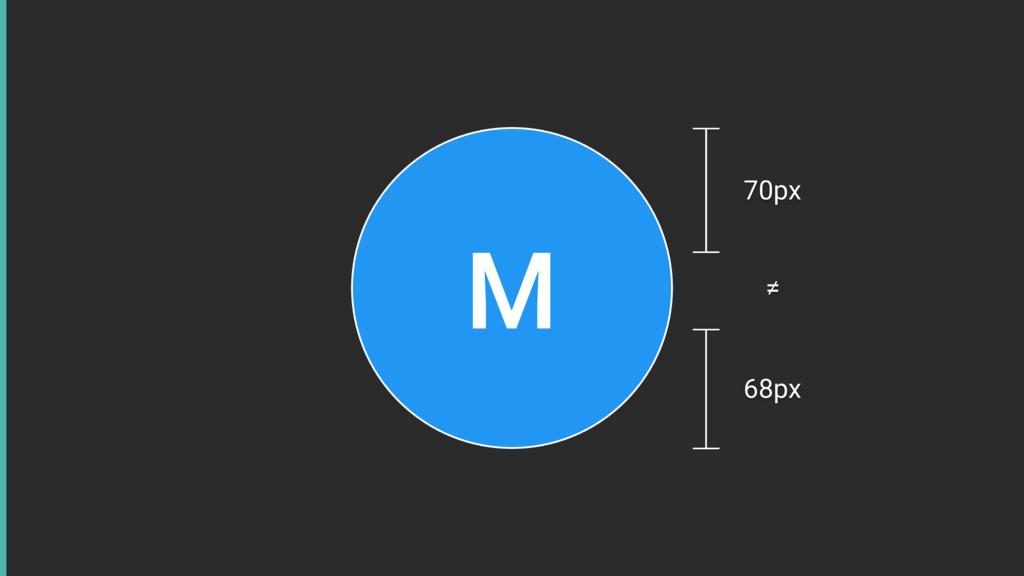 M 70px 68px ≠
