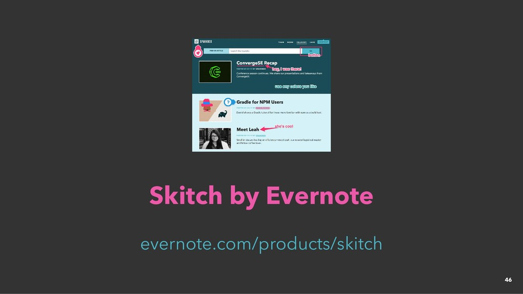 Skitch by Evernote Skitch by Evernote evernote....