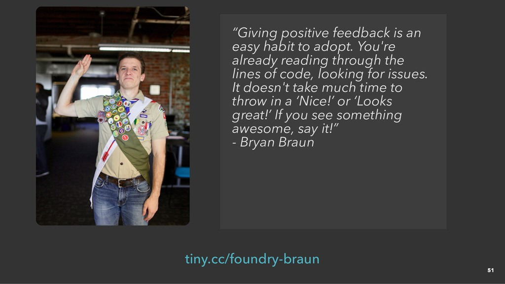 """Giving positive feedback is an easy habit to a..."