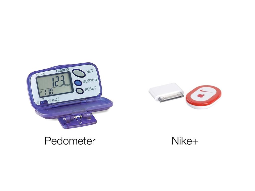 Pedometer Nike+