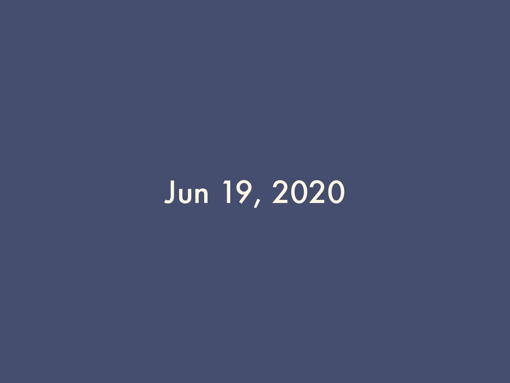 Jun 19, 2020
