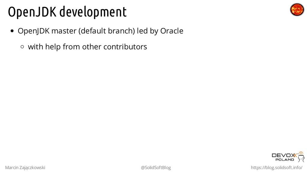 OpenJDK development OpenJDK master (default bra...