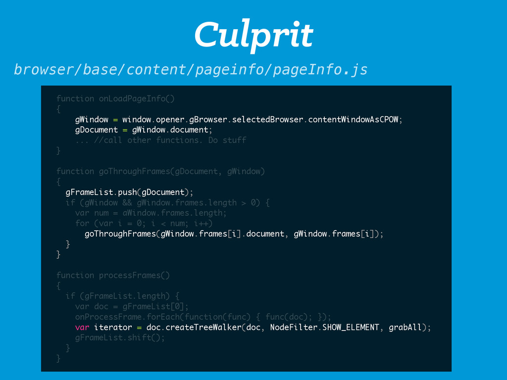 Culprit browser/base/content/pageinfo/pageInfo....