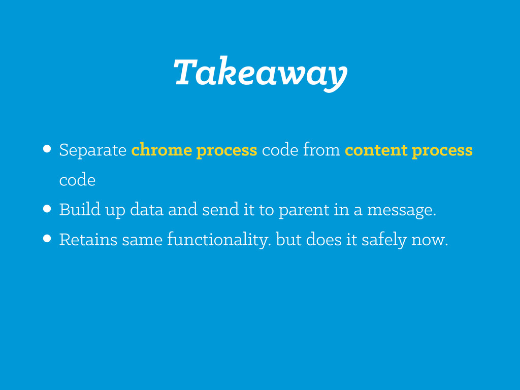 •Separate chrome process code from content proc...