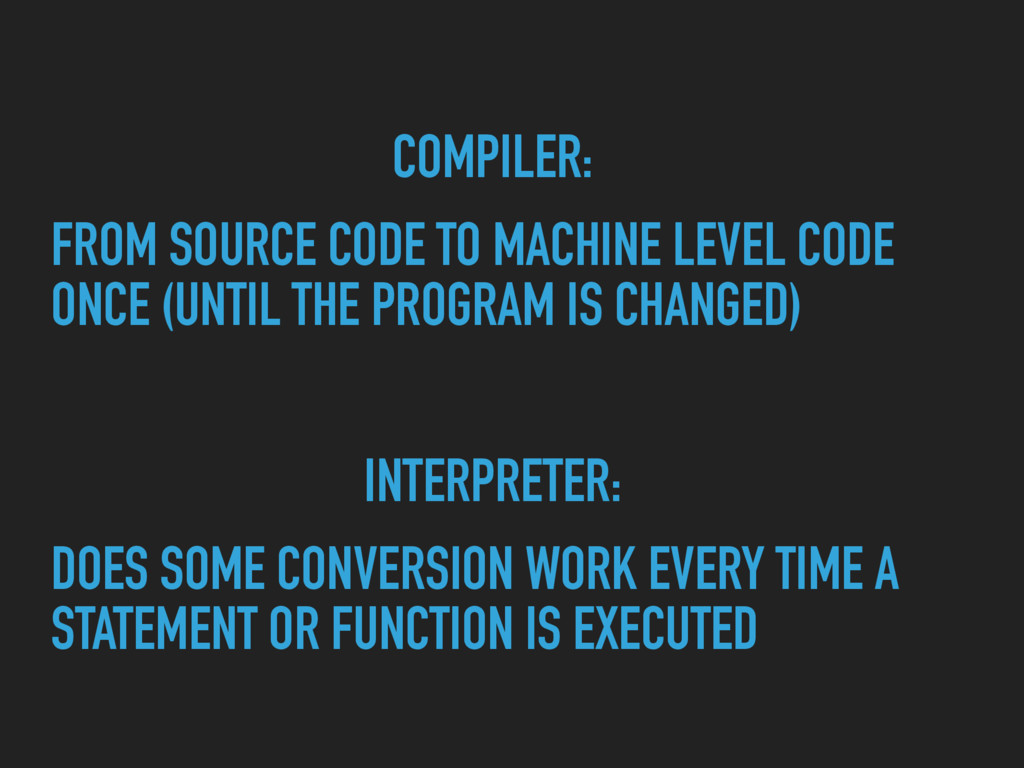 COMPILER: FROM SOURCE CODE TO MACHINE LEVEL COD...