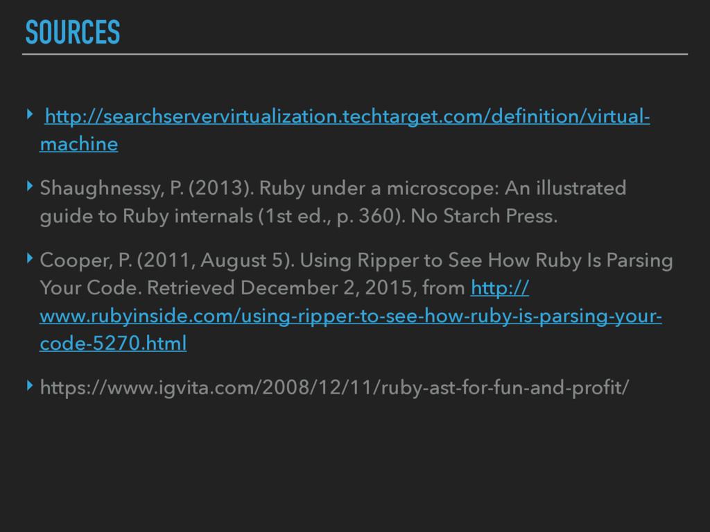 SOURCES ‣ http://searchservervirtualization.tec...