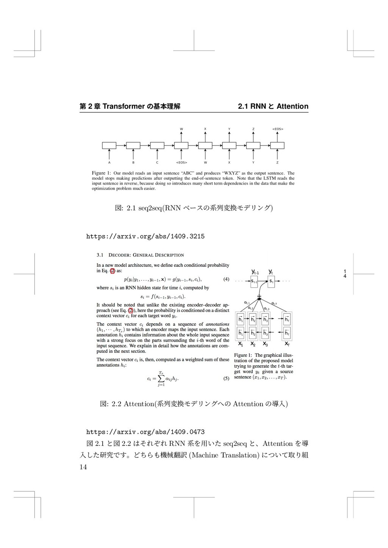 1 4 痥 2 畍 Transformer ך㛇劤椚鍑 2.1 RNN ה Attention...