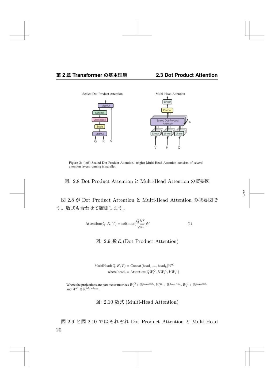 2 0 痥 2 畍 Transformer ך㛇劤椚鍑 2.3 Dot Product Att...
