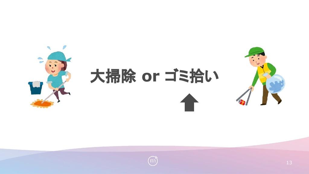 大掃除 or ゴミ拾い 13