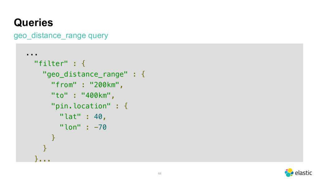 "Queries geo_distance_range query 44 ... ""filter..."