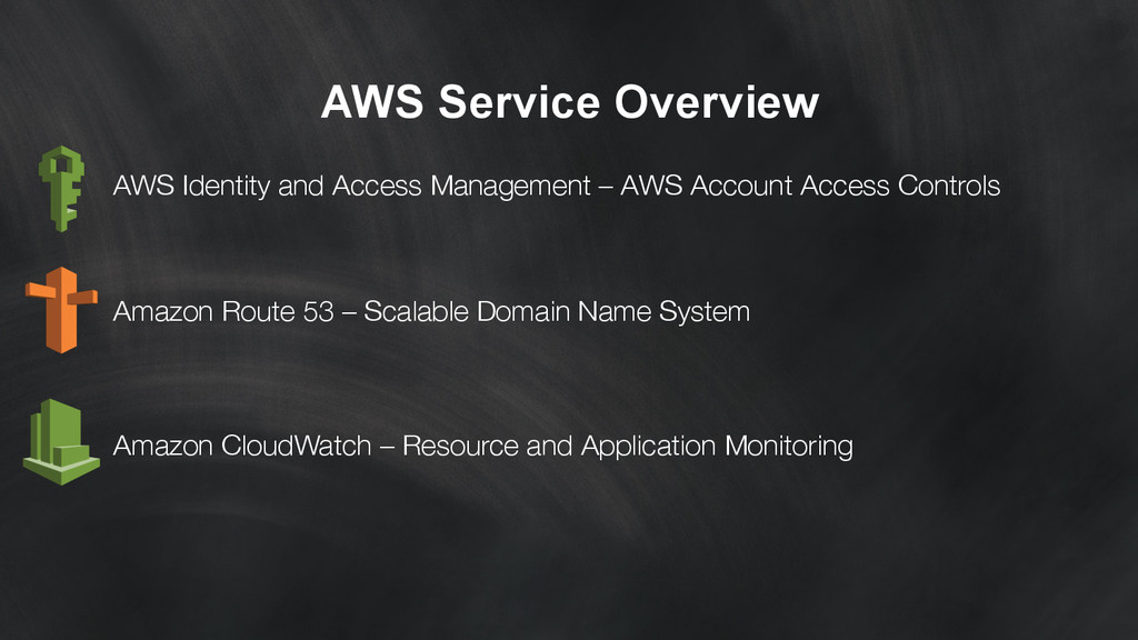 AWS Service Overview AWS Identity and Access M...