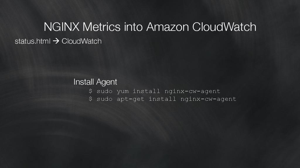 NGINX Metrics into Amazon CloudWatch status.ht...