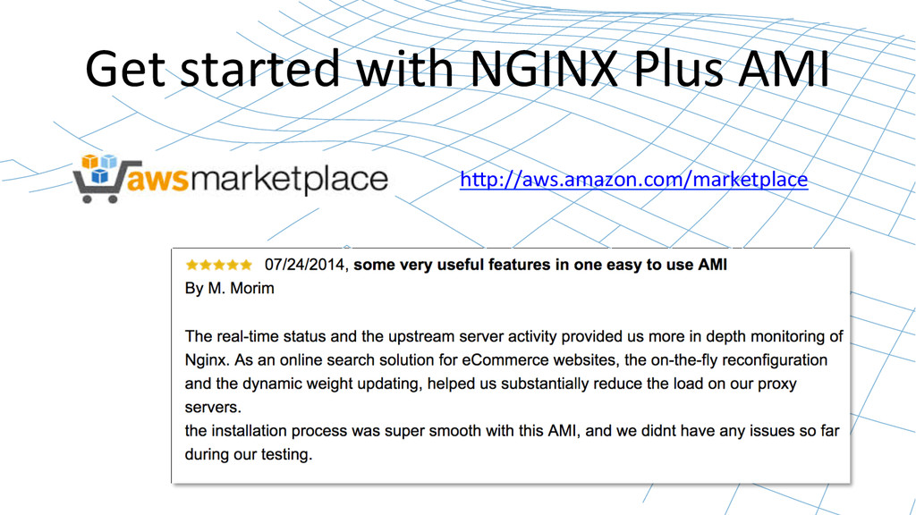 Get started with NGINX Plus AMI...