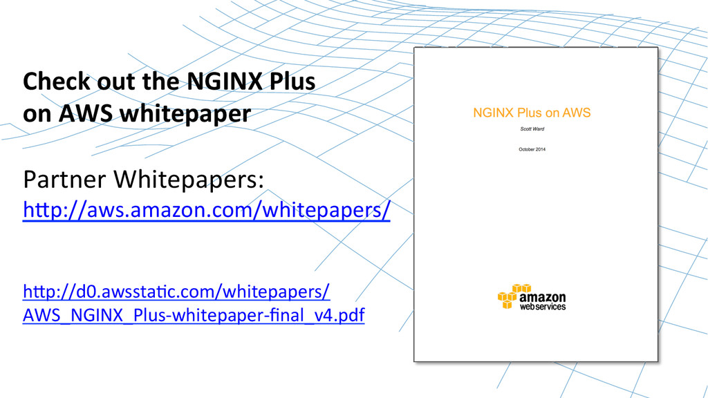 Check out the NGINX Plus   on...