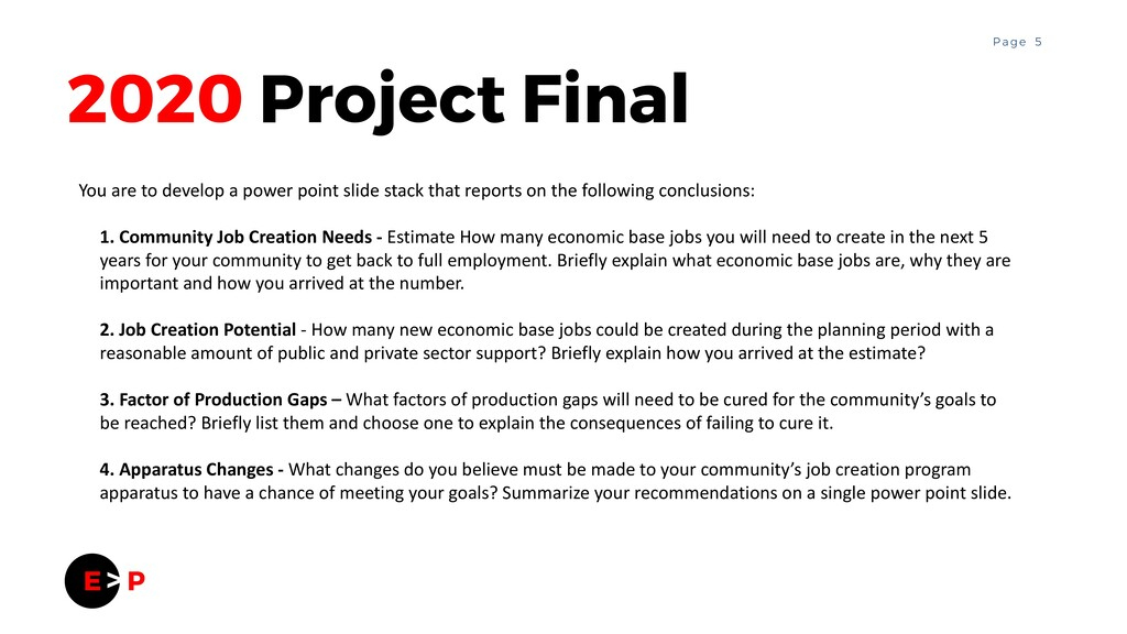5 P a g e 2020 Project Final You are to develop...