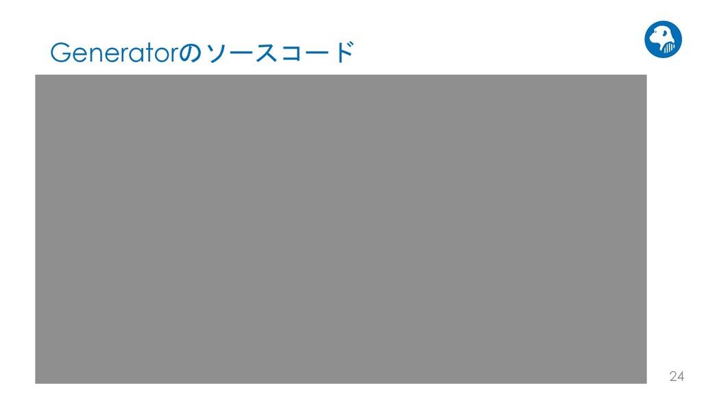 AVILEN 24 Generatorのソースコード class Generator(nn.M...