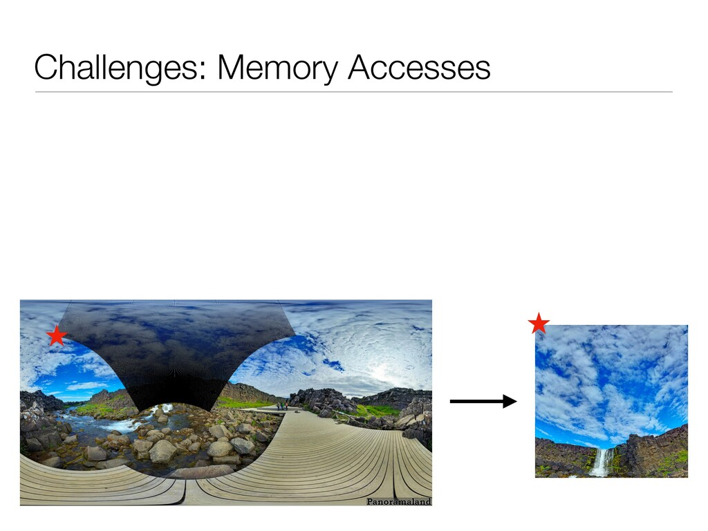 Challenges: Memory Accesses