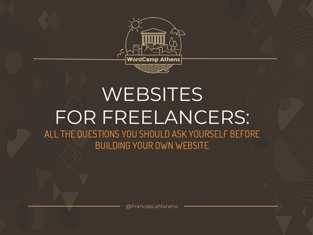 WEBSITES FOR FREELANCERS: ALL THE QUESTIONS YOU...