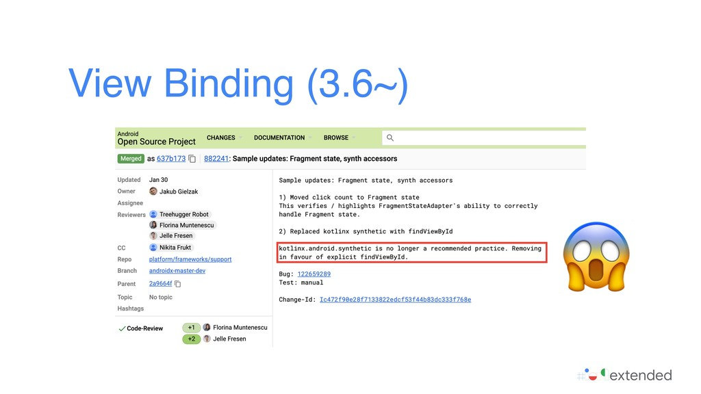 View Binding (3.6~)