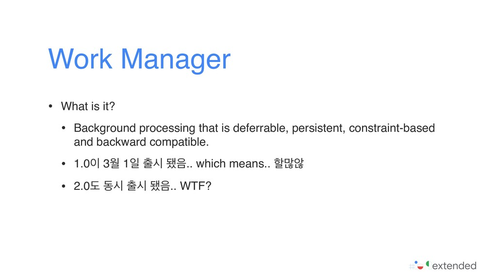 • What is it? • Background processing that is d...