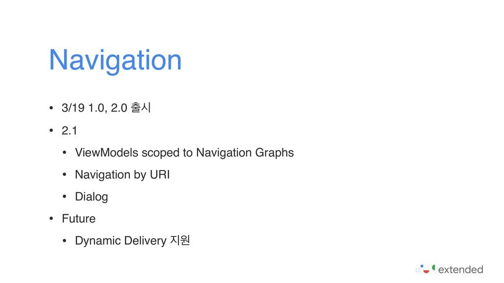 • 3/19 1.0, 2.0 द • 2.1 • ViewModels scoped to...