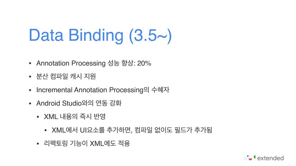 • Annotation Processing מ ೱ: 20% • ࠙ ஹੌ நद ...