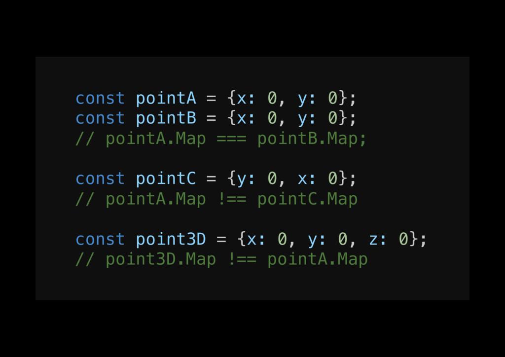 const pointA = {x: 0, y: 0};! const pointB = {x...