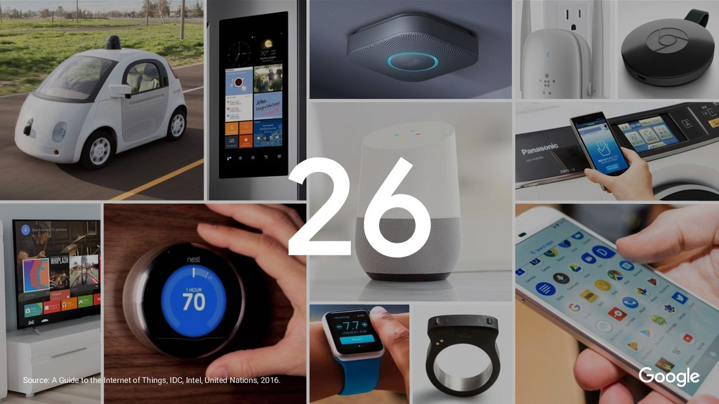 26 Source: A Guide to the Internet of Things, I...