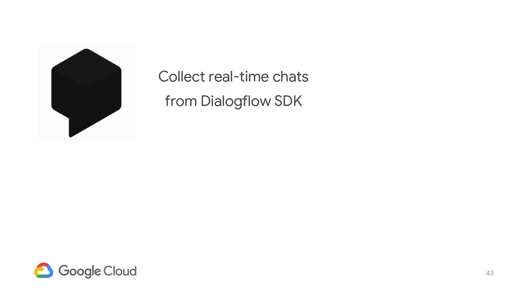 43 Collect real-time chats from Dialogflow SDK