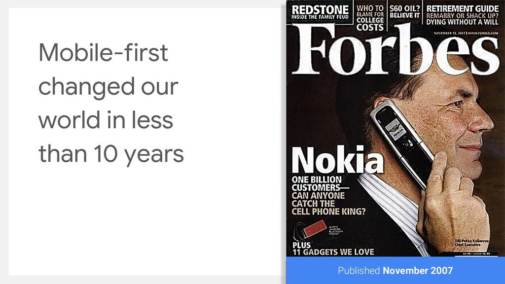 Mobile-first changed our world in less than 10 ...