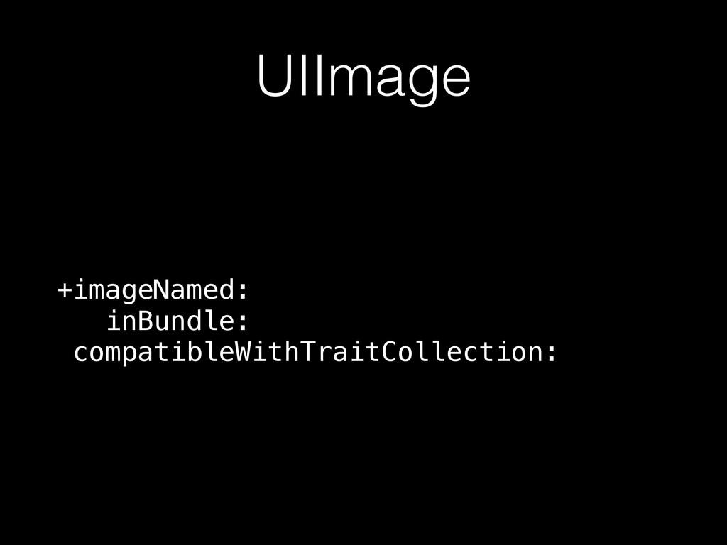 UIImage +imageNamed: inBundle: compatibleWith...