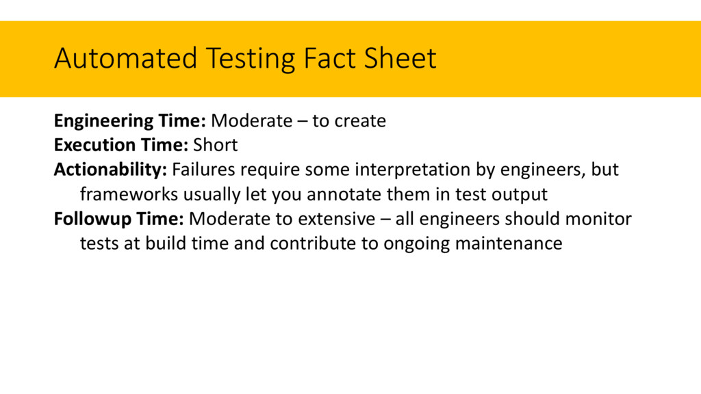 Engineering Time: Moderate – to create Executio...