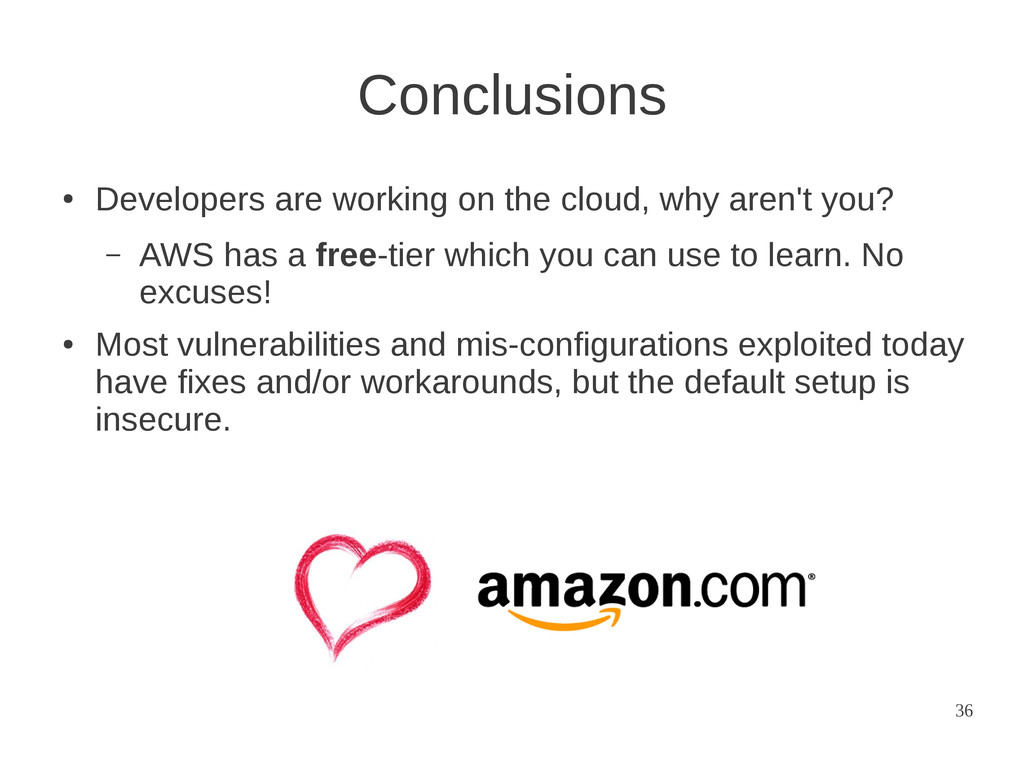 36 ● Developers are working on the cloud, why a...