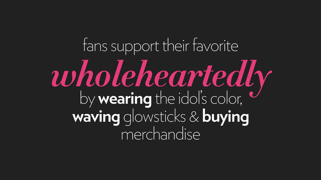 fans support their favorite wholeheartedly by w...