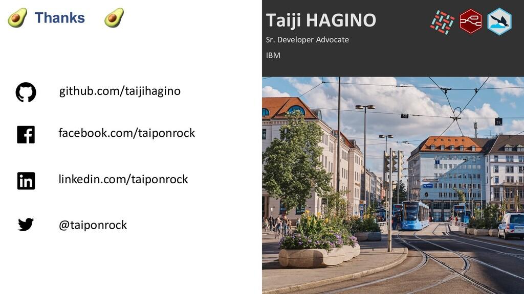 Thanks github.com/taijihagino Taiji HAGINO Sr. ...