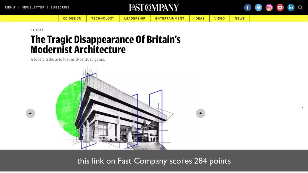 this link on Fast Company scores 284 points