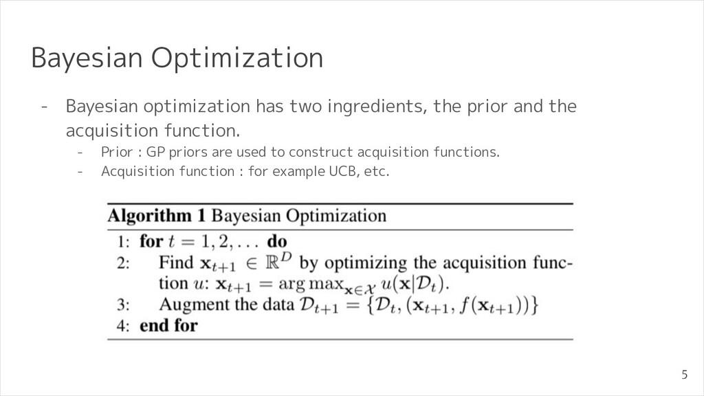 Bayesian Optimization - Bayesian optimization h...