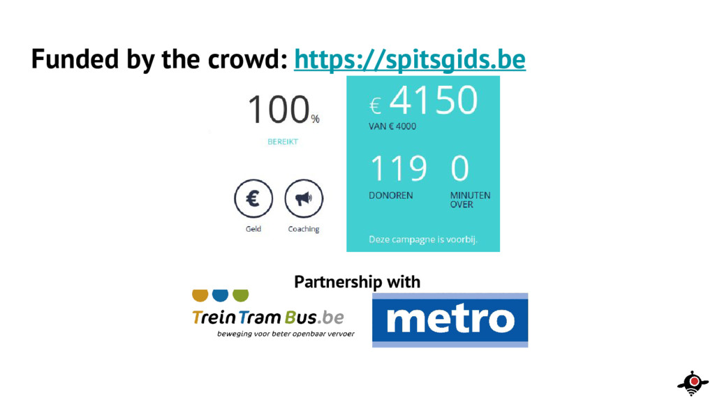 Partnership with Funded by the crowd: https://s...