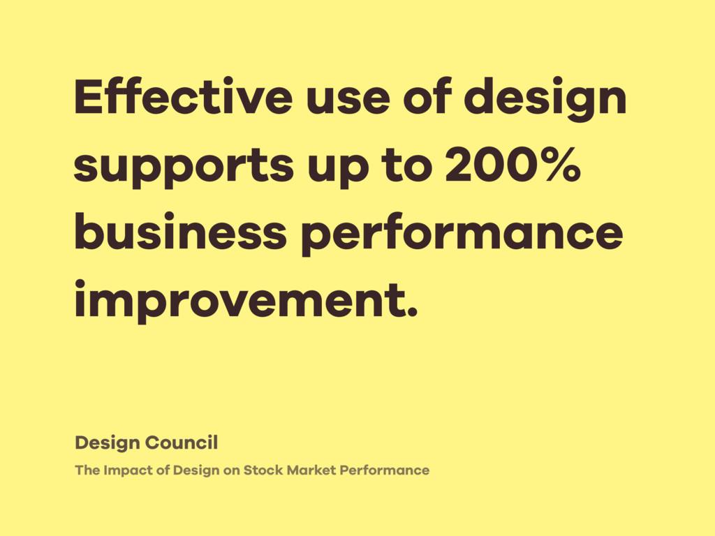 The Impact of Design on Stock Market Performanc...