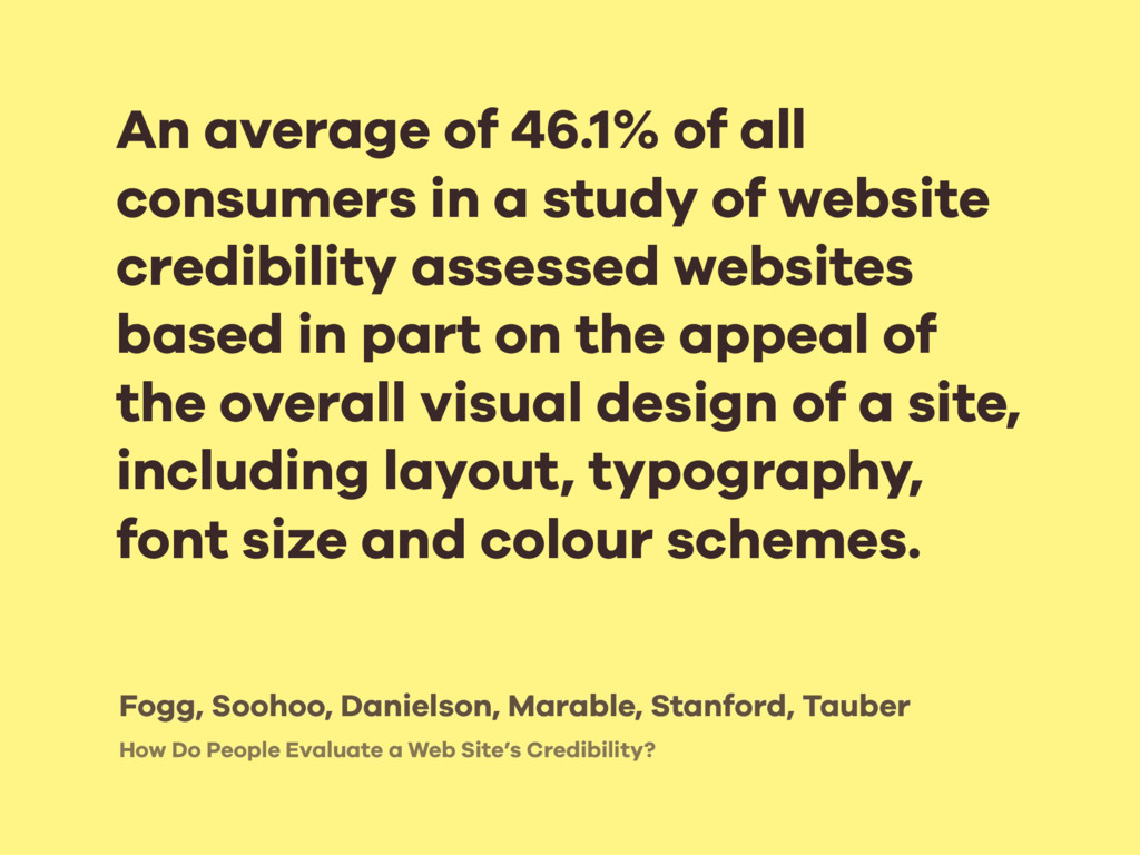How Do People Evaluate a Web Site's Credibility...