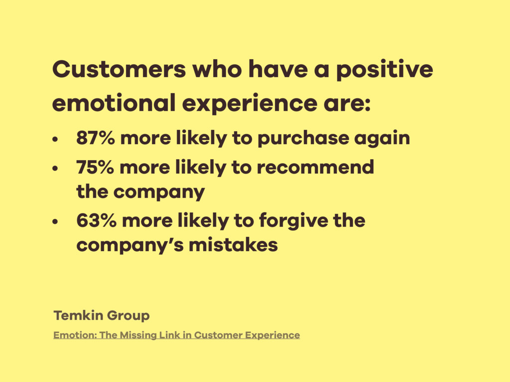 Emotion: The Missing Link in Customer Experienc...