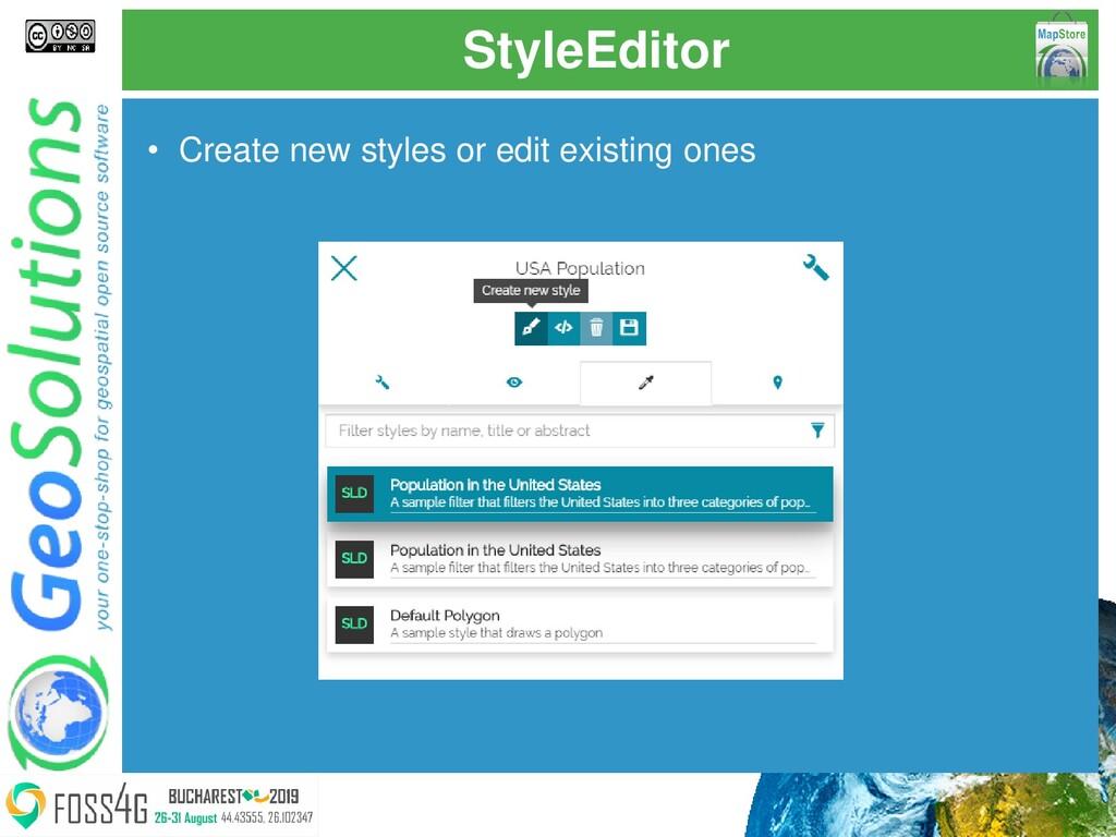 StyleEditor • Create new styles or edit existin...