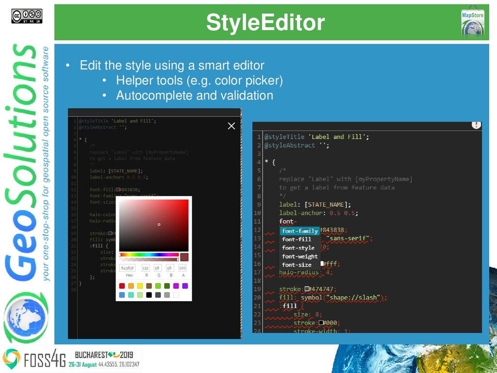 StyleEditor • Edit the style using a smart edit...