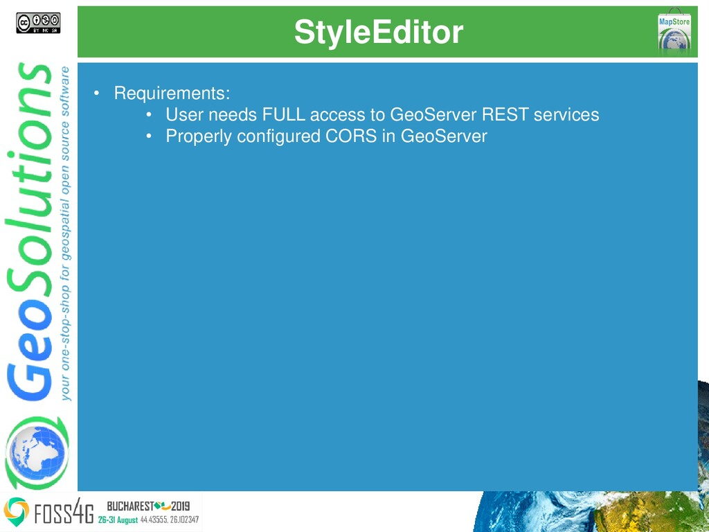 StyleEditor • Requirements: • User needs FULL a...