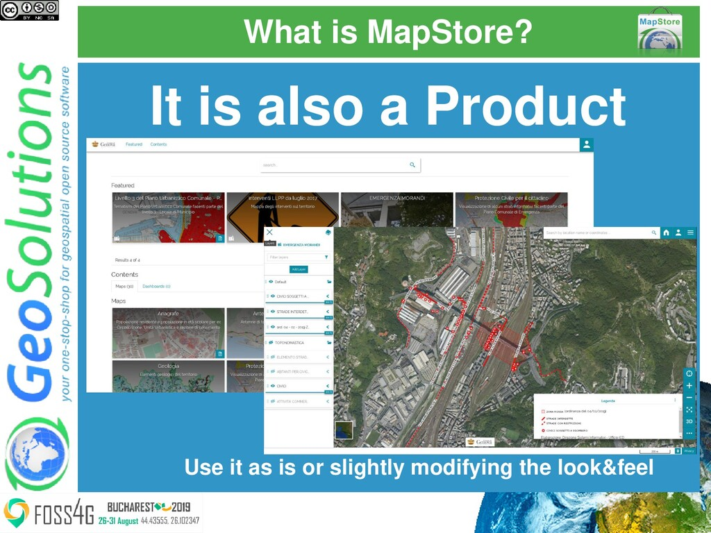 What is MapStore? It is also a Product Use it a...